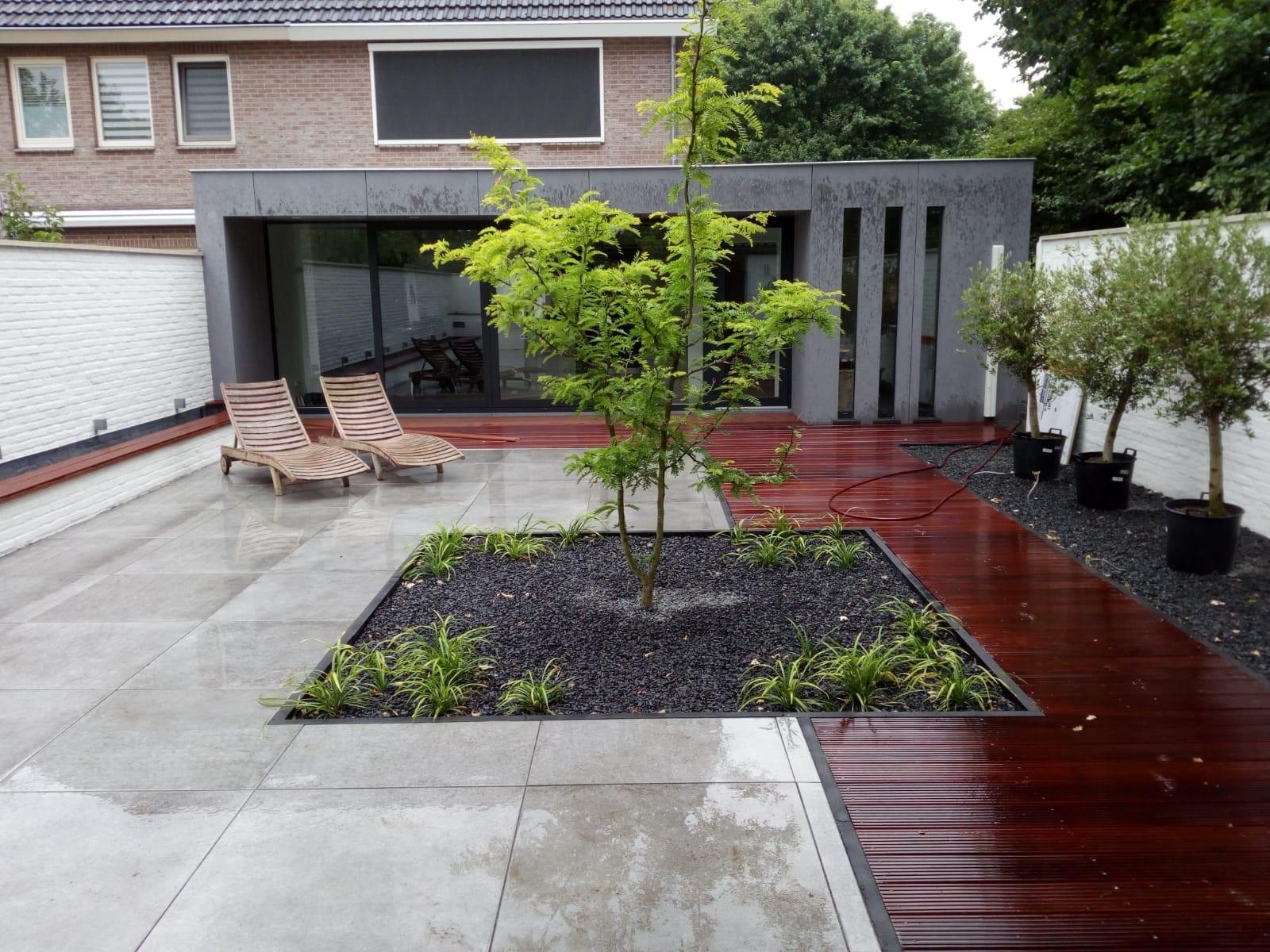 Een vlonder maakt uw tuin of terras compleet!