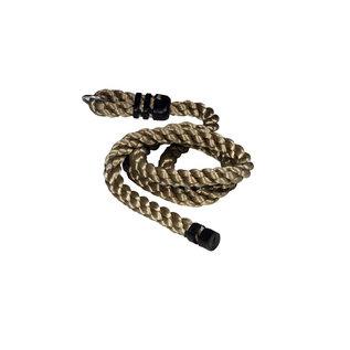 Glad gevlochten touw