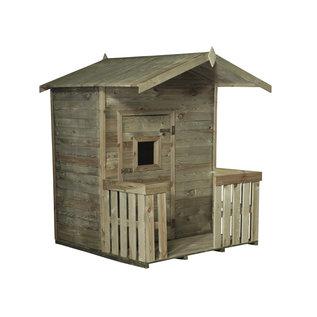 Celfix (verduurzaamd) Kinderhuisje met veranda