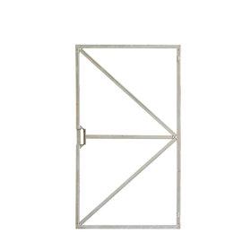 Stalen frame voor deur