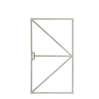 Stalen frame voor deur (met ogen)