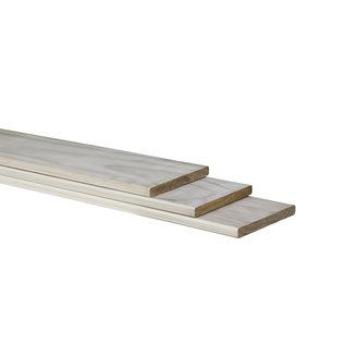 Accoya plank, geschaafd