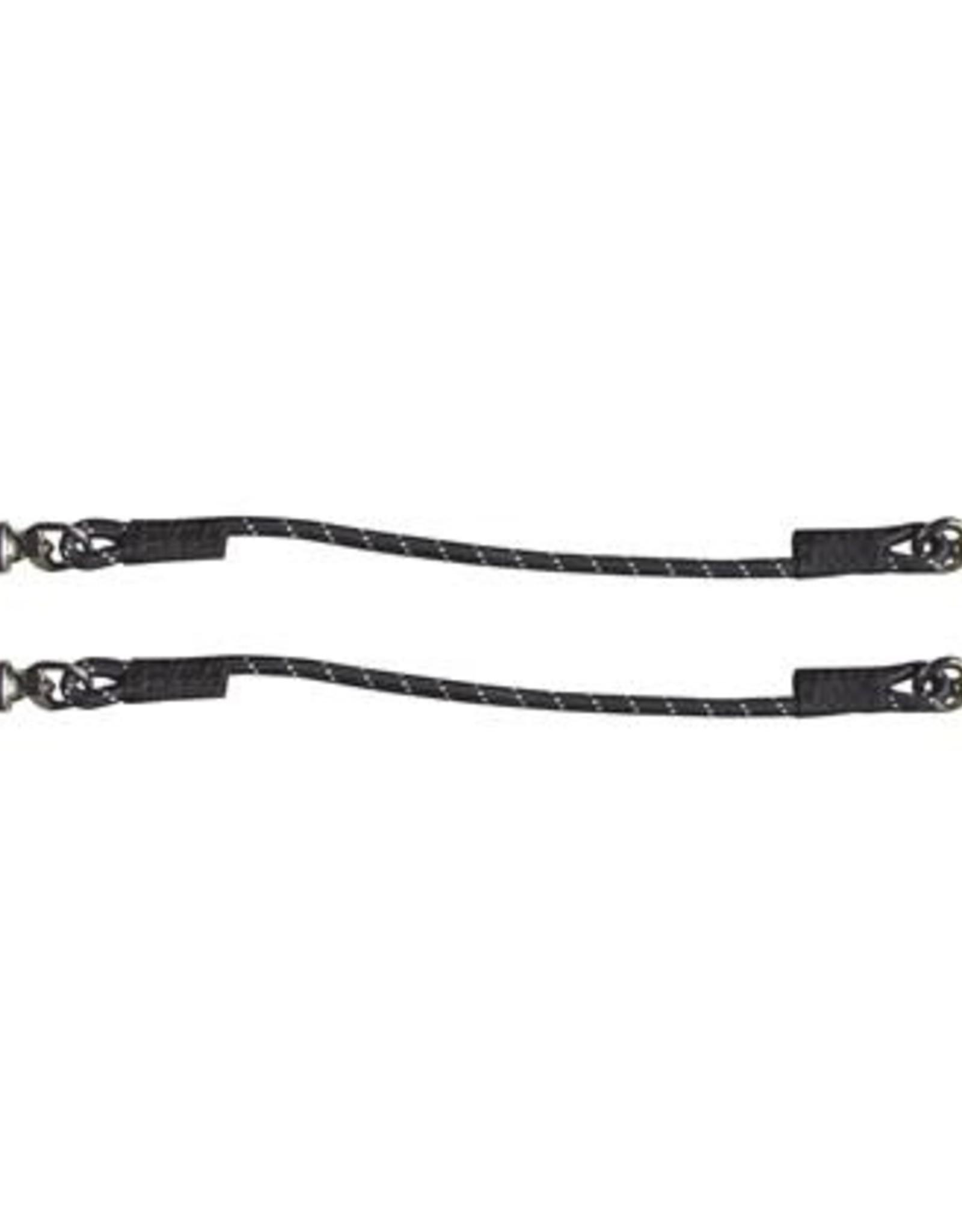Harry's Horse HH Trailertouw elastisch Zwart/wit