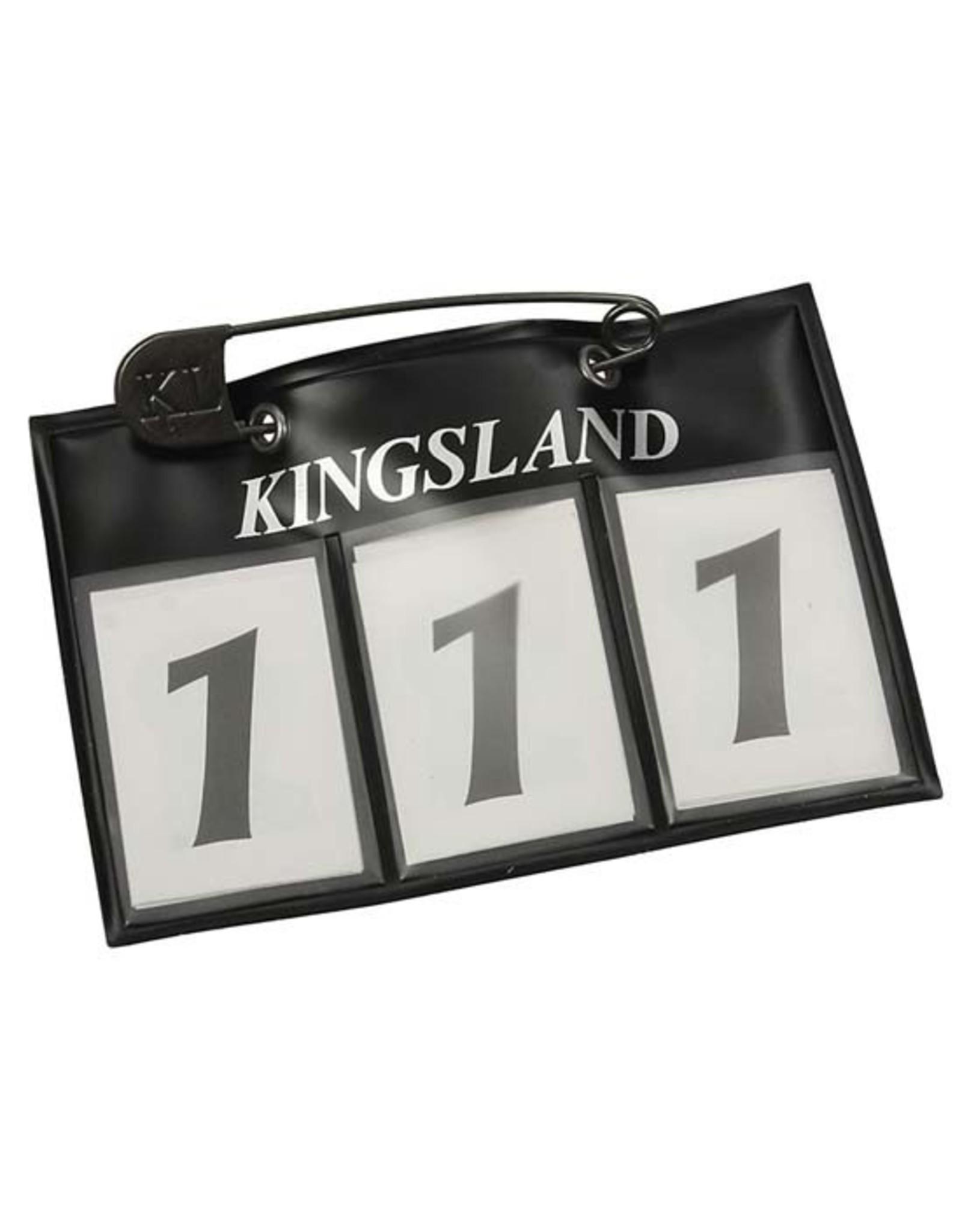 Kingsland KL Classic number plate navy