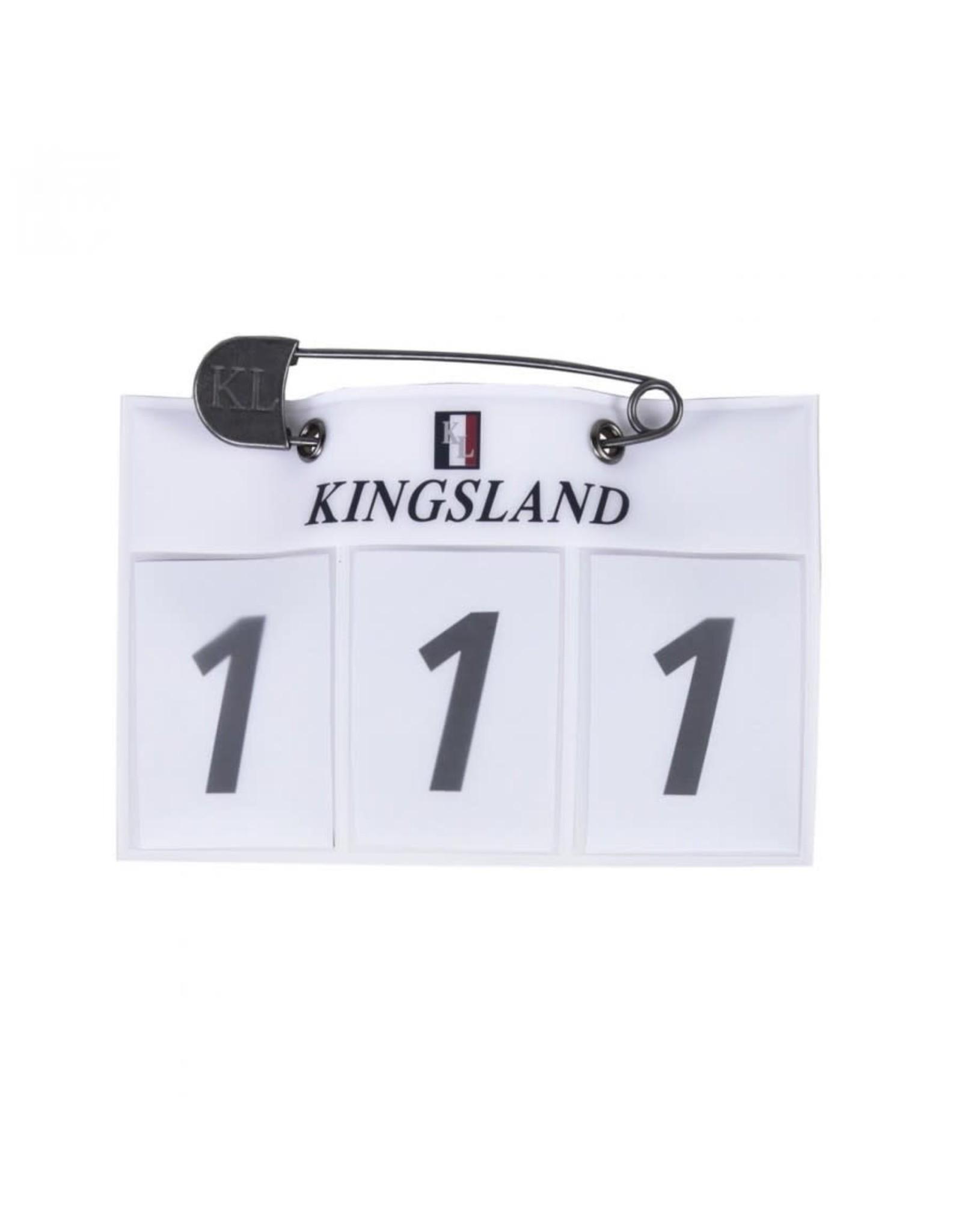 Kingsland KL Classic number plate white