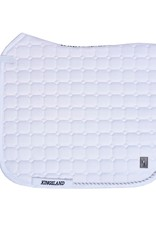 Kingsland KL Classic dressage saddle pad white