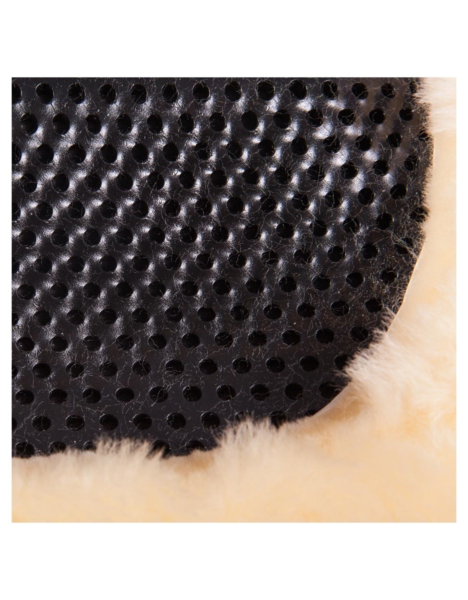 BR BR Gel pad therapeutic soft dri-lex schapenvacht Zwart L