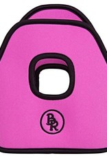BR BR Stijgbeugelhoesjes neopreen Pink 12cm
