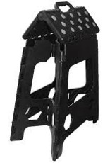 Equithème EQUITM Hippotonic opvouwbare opstap-kruk zwart