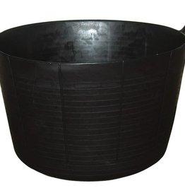 Equithème EQUITM Hippotonic flexi tub zwart 75l