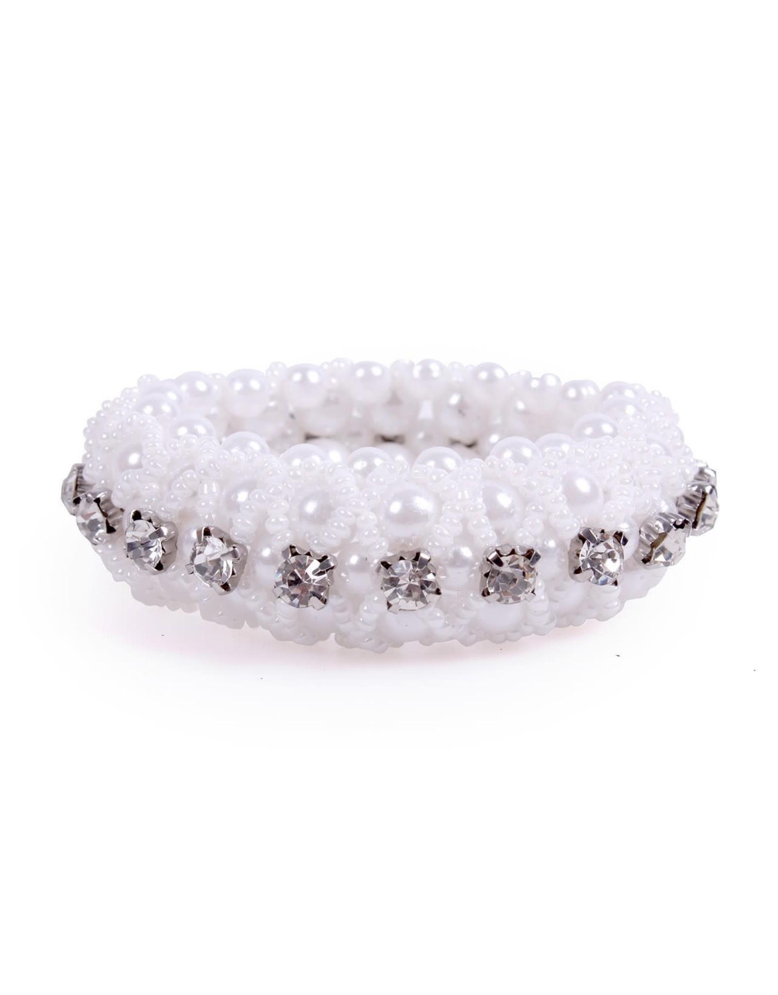 QHP QHP Knotband Diamond Wit