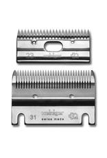 Equithème Heiniger blade set fine clipping 31/23