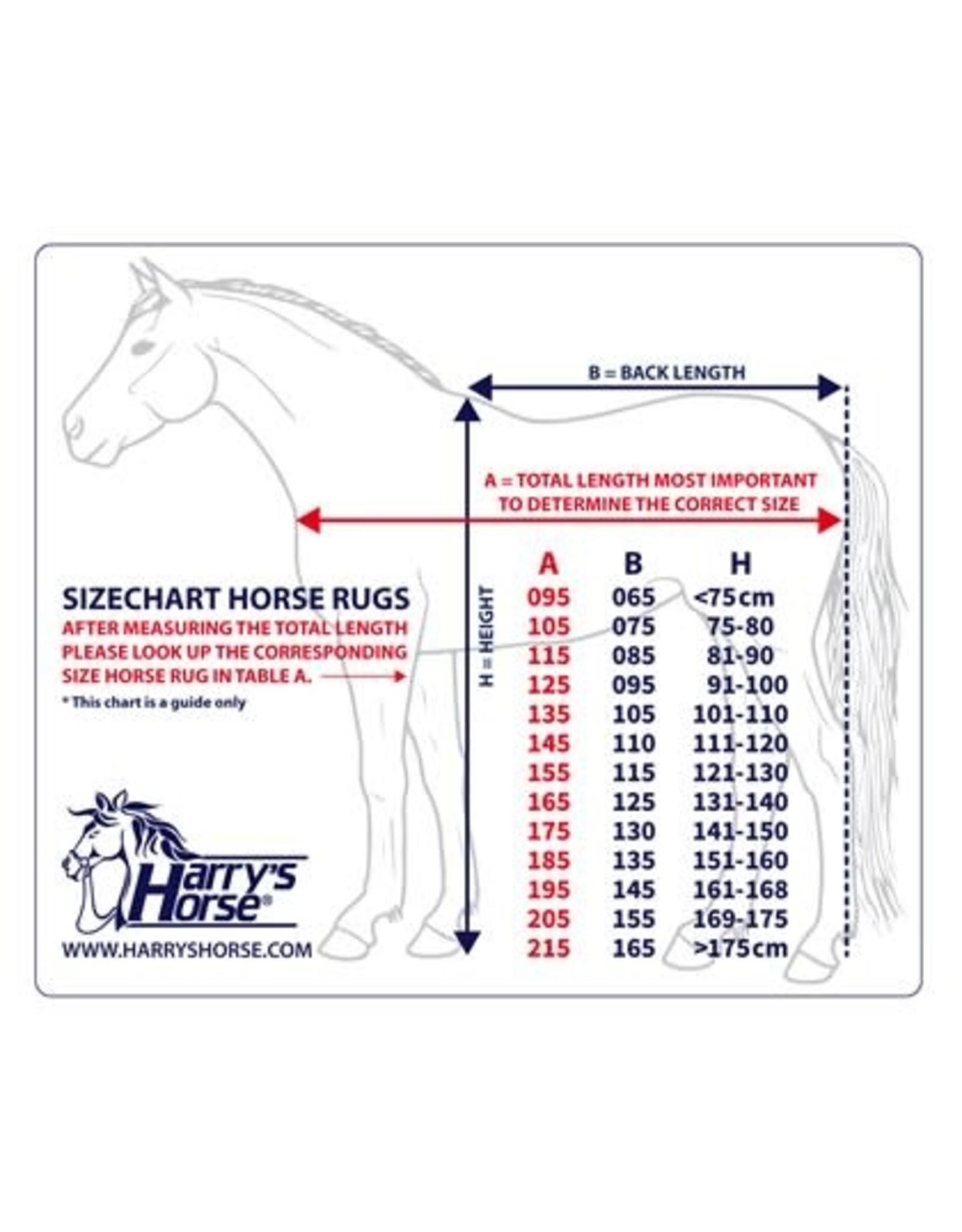 Harry's Horse Harry's Horse fleecedeken bordeaux