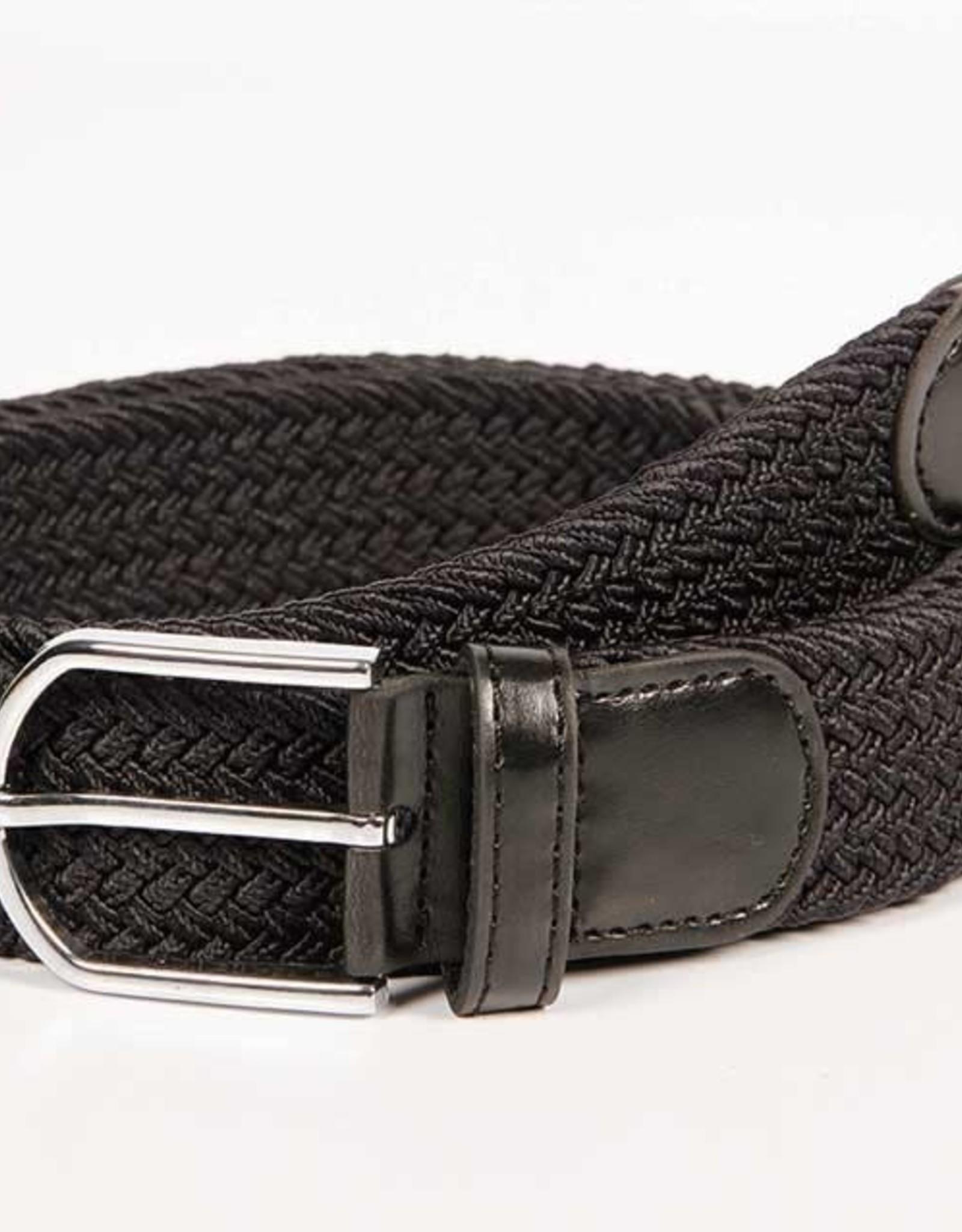 Harry's Horse Harry's Horse riem elastisch zwart