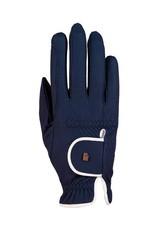 Roeckl Roeckl handschoenen Lona  blauw/wit