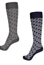 pikeur Pikeur Sokken Logo All Over Grijs
