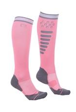 QHP Kniekous super grip Flamingo pink