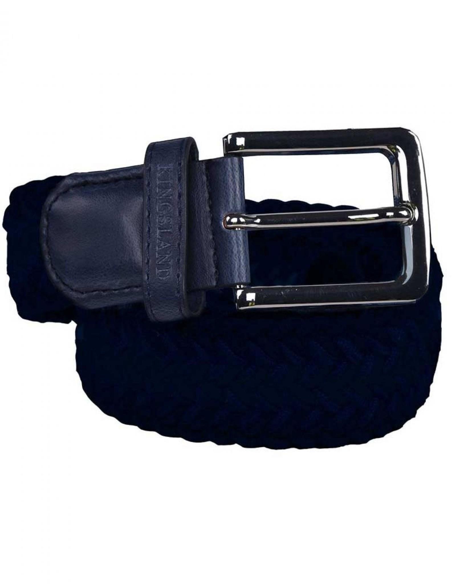 Kingsland Kingsland braided belt Navy