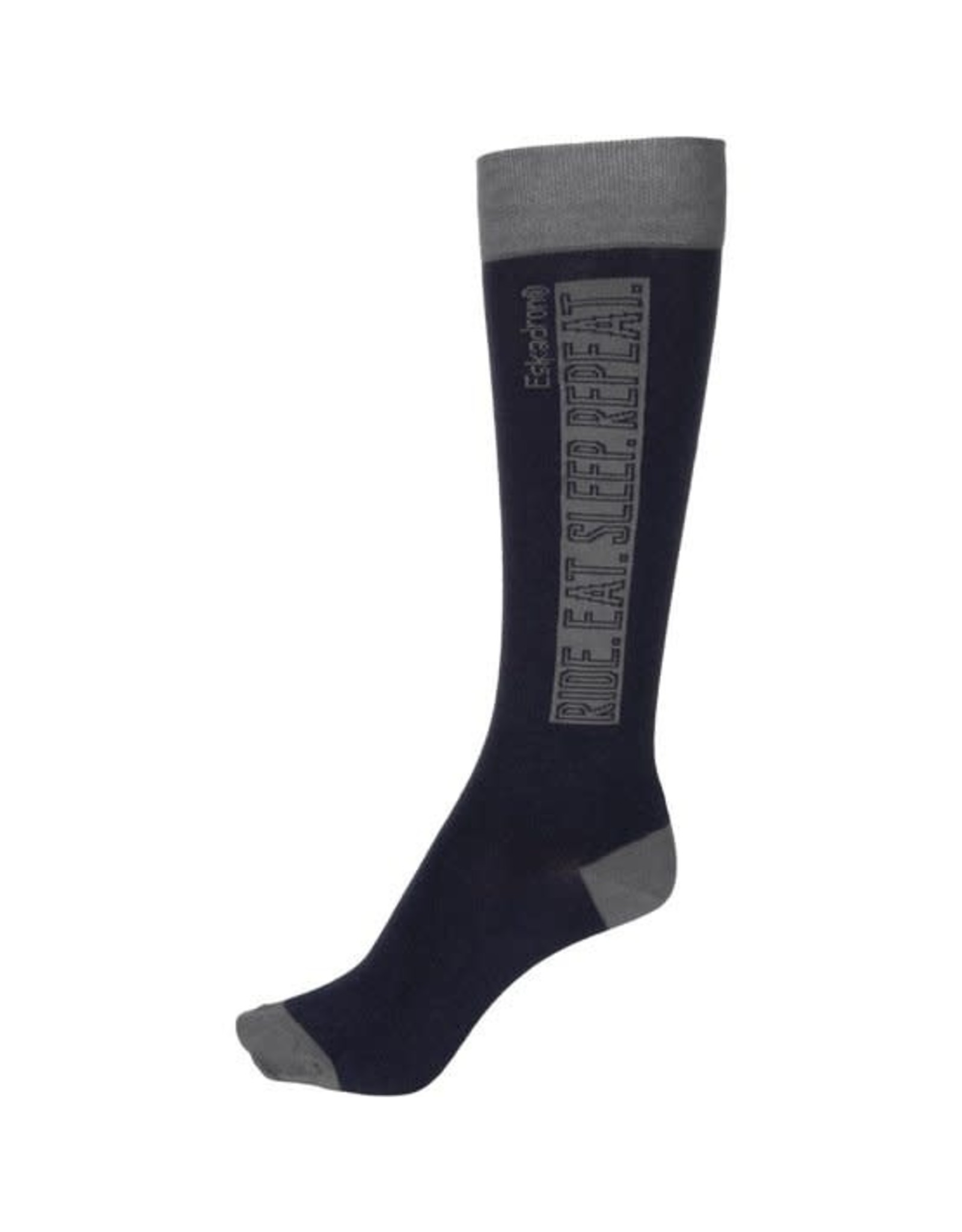 Eskadron Eskadron Knee Socks Equestrian Fanatics Navy/Grey