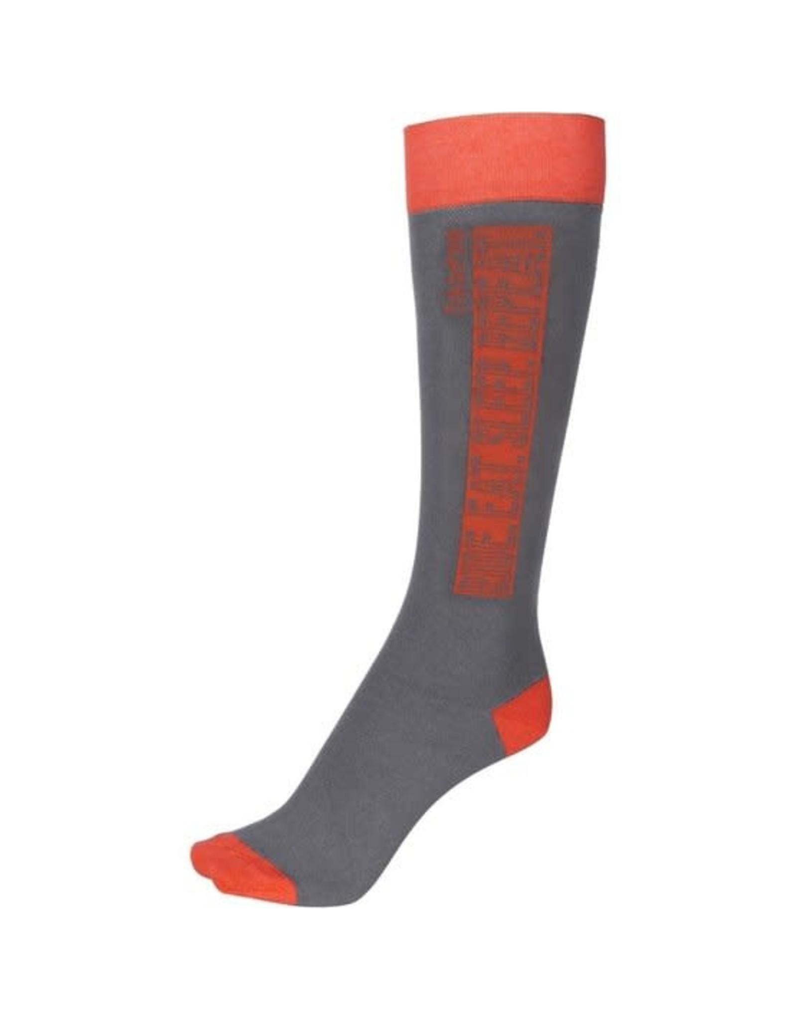 Eskadron Eskadron Knee Socks Equestrian Fanatics Grey/orange