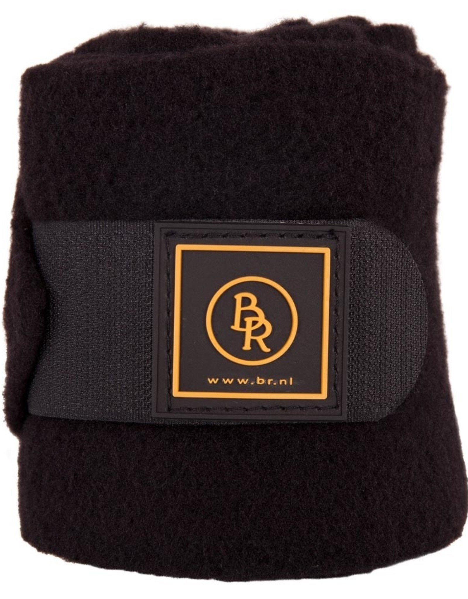 BR BR fleece bandages pony Event Zwart