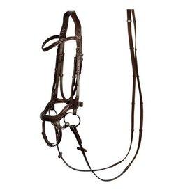 Harry's Horse HH Hoofdstel Anatomic Bruin