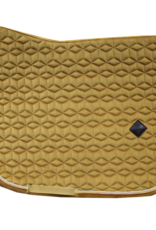 Kentucky Kentucky Zadeldoek fluwelen mosterd dressuur