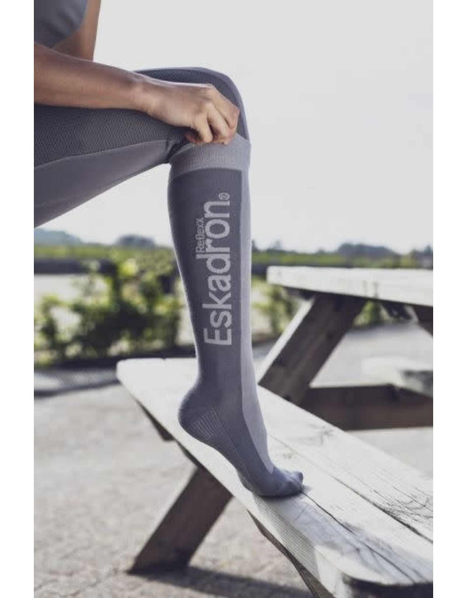 Eskadron Eskadron Knee socks REFLEXX Grijs