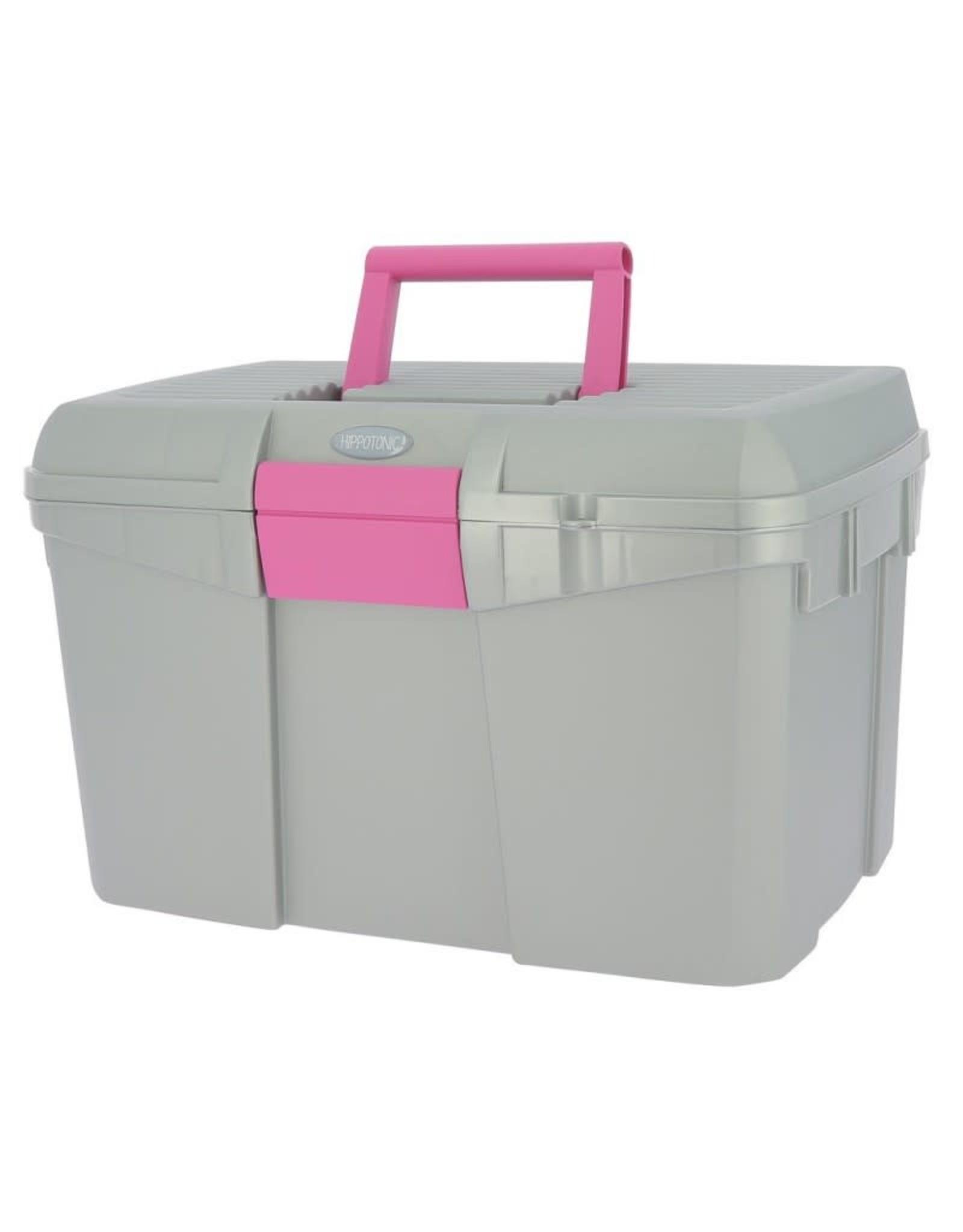 Equithème EQUITM Hippotonic poetsbox grijs/roze