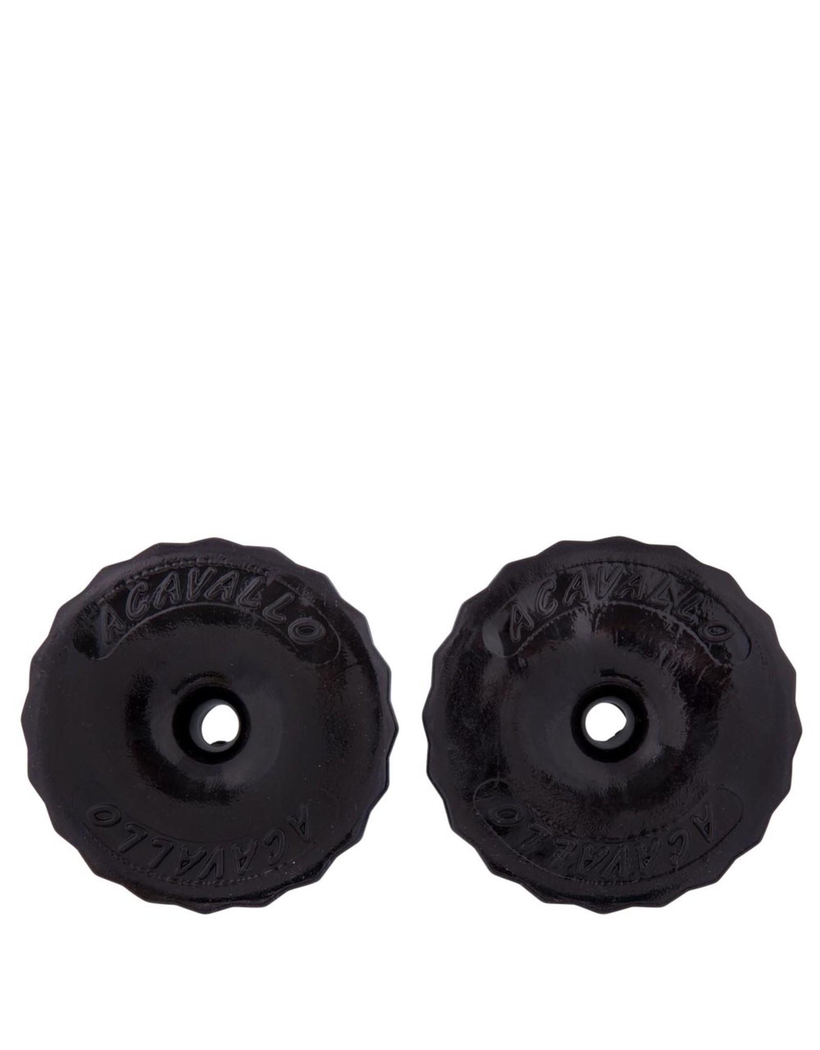 BR Acavallo bitschijven soft gel zwart