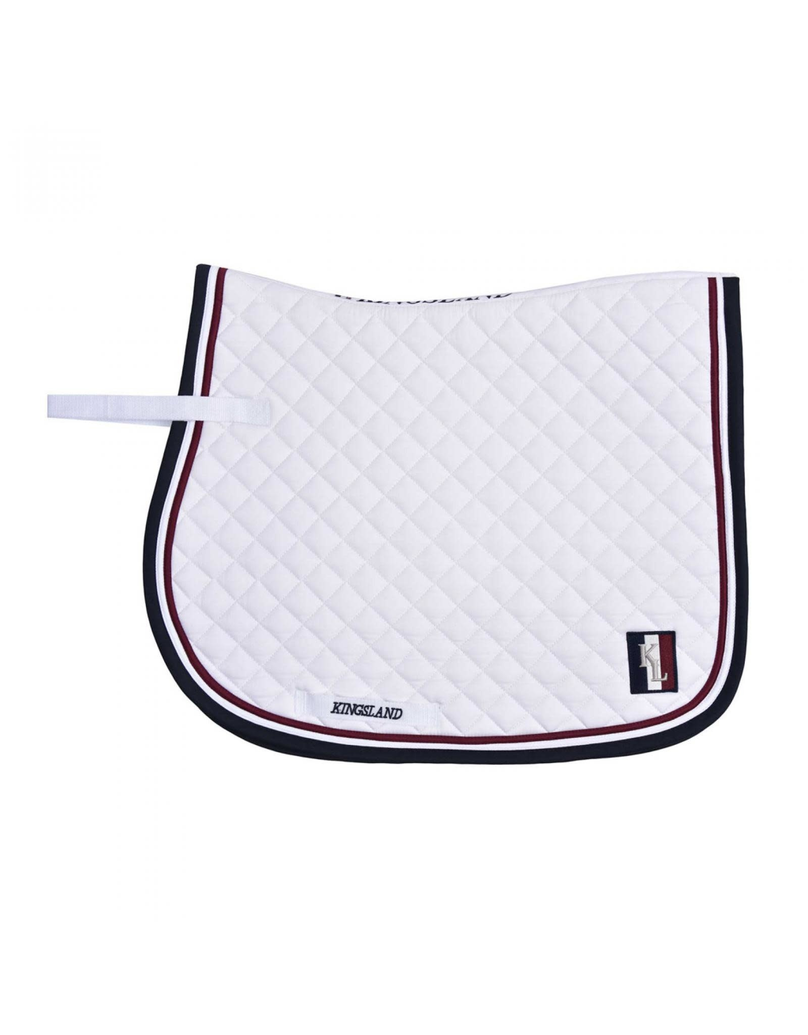 Kingsland KL Classic saddle pad jumping white