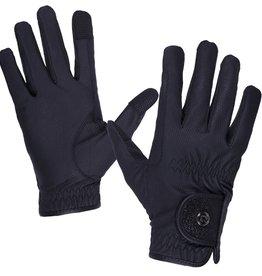 QHP QHP handschoenen glitz zwart