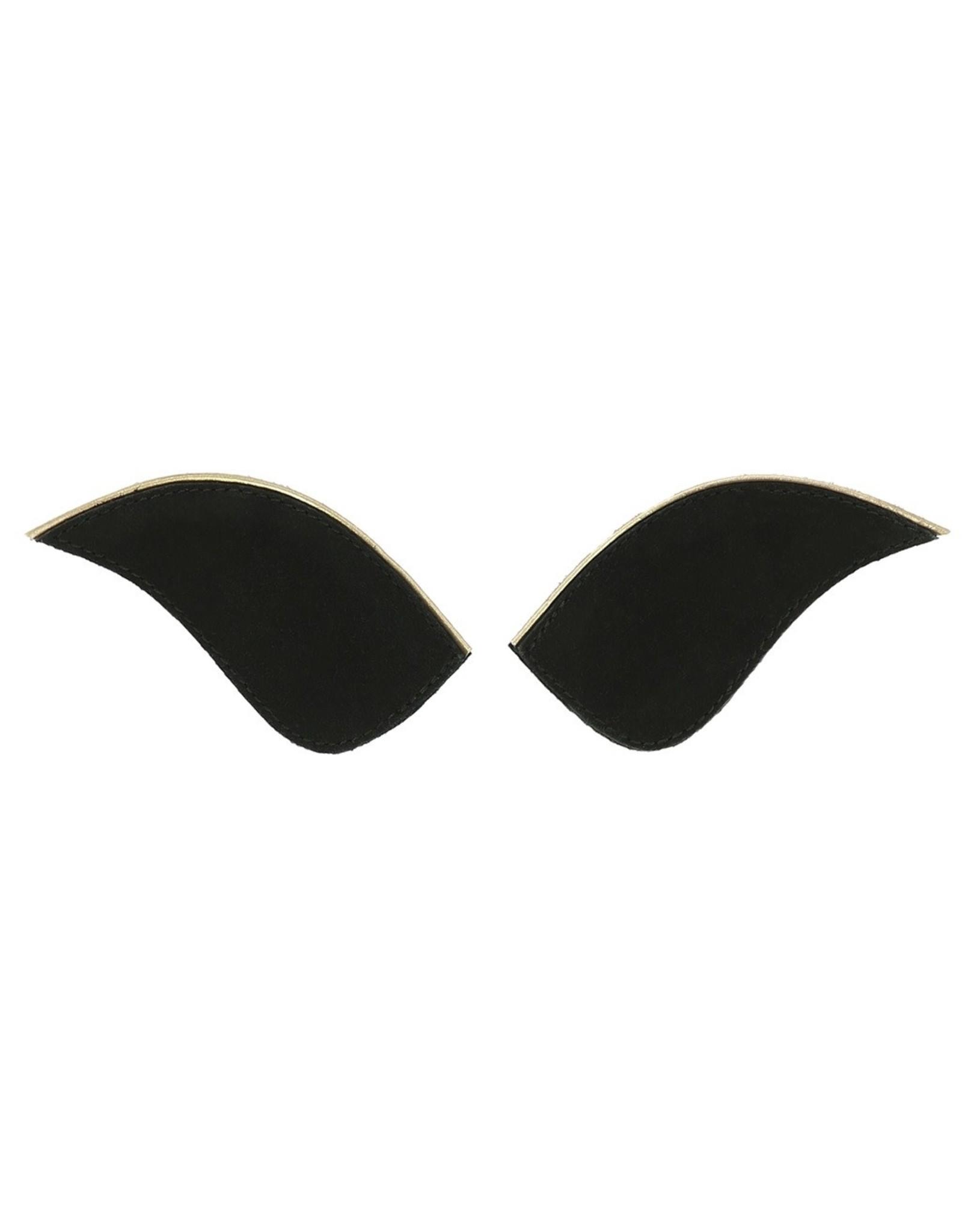 """Equithème Equithème """"Myprimera"""" Badges Noir, Coloris doré"""