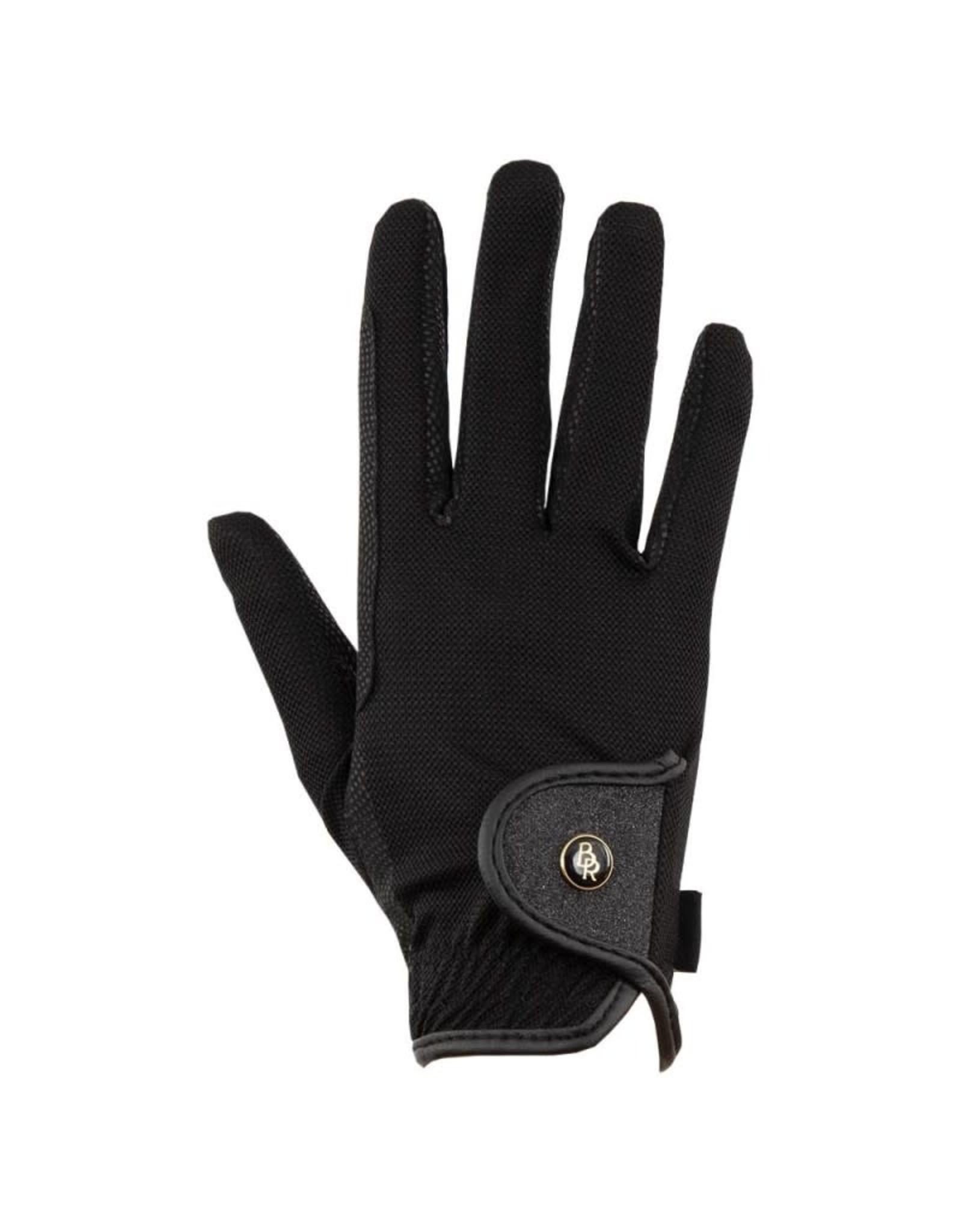 BR BR handschoenen Royal Mesh Zwart