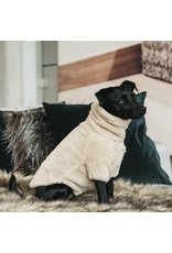 Kentucky Kentucky Hondensweater teddy fleece Beige