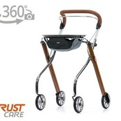 Trustcare Rollator Trust Care Let's Go Indoor Teak