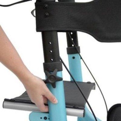 Excel Caremart EZ-Lite Rollator Kite Blue