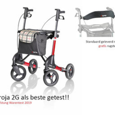 Topro Rollator Topro Troja 2G Rood