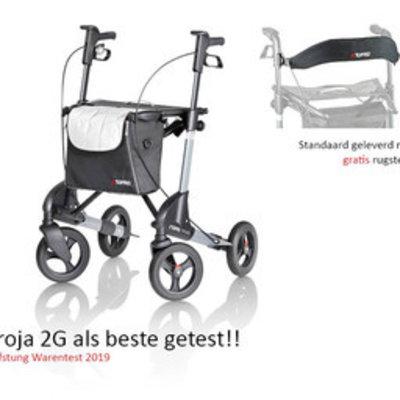 Topro Rollator Topro Troja 2G Grijs