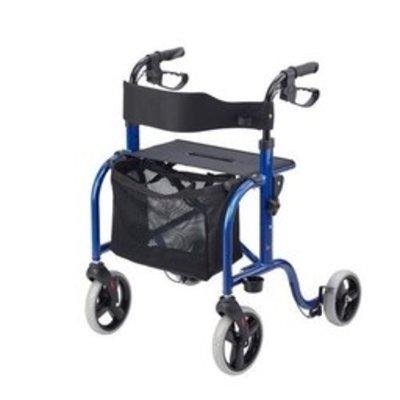 Bischoff & Bischoff Lichtgewicht rollator Smart zonder remkabels