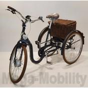 Tri-bike Classic SU Retro elektrische Driewielfiets Tri-bike