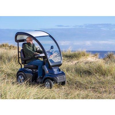 Afikim Scootmobiel Breeze S4 met overkapping