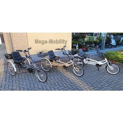 Tri-bike Y-Frame Driewielfiets Tri-bike