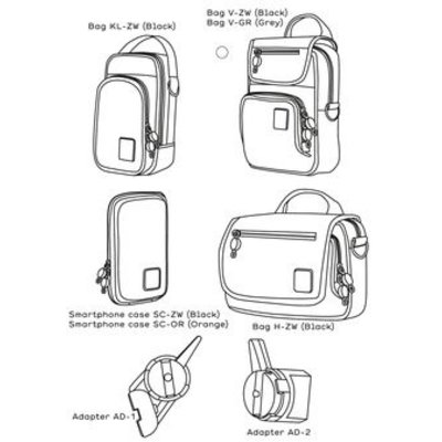 Quokka Bag Adapter AD-1 en AD-2