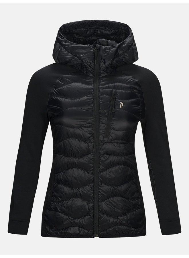 Helium Hybrid Hooded Jacket Women