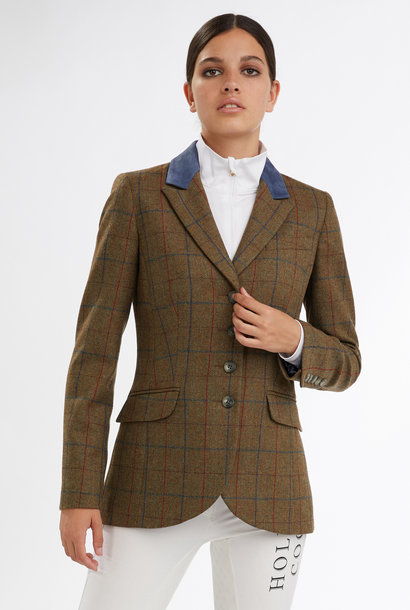 Women's Glen Green Tweed Jacket