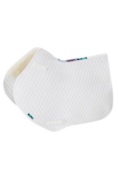 HiWither Half Wool Close Contact Saddle Pad