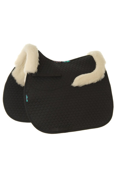 HiWither Half Wool GP Saddlepad With Collars