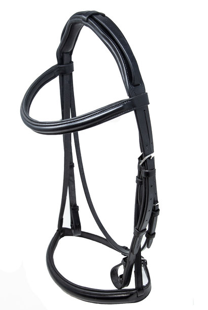 Wembley Pro Snaffle with Show Noseband