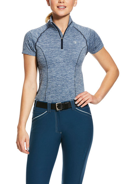 Women's Odyssey Seamless 1/4 Zip Base Layer